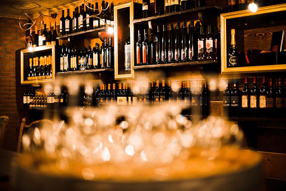 Weinkeller bei Da Luciano Pulheim