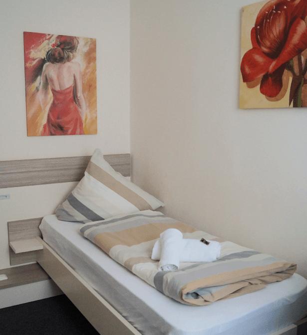 Hotel Amalfi Pulheim - Einzelzimmer