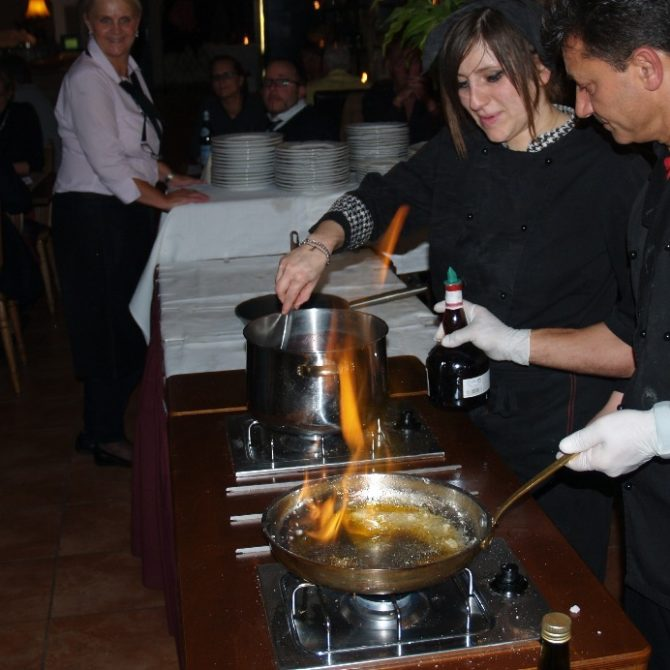 Live Cooking im Da Luciano Pulheim